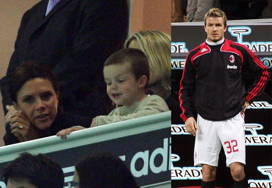 The Beckhams in Milan