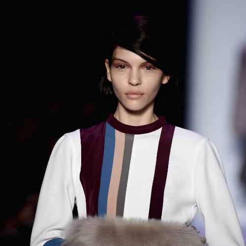 BCBG Max Azria Fall 2014 Hair and Makeup   Runway Pictures