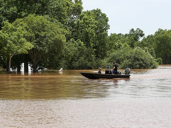 Six Dead, Dozens Rescued as Texas Floods Reach Record Levels
