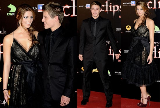 Pictures of Ashley Greene and Xavier Samuel at Madrid Eclipse Premiere