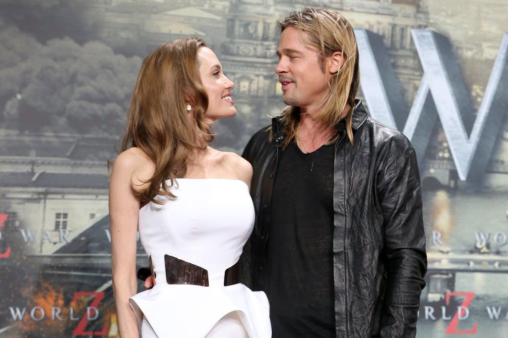 Newlyweds Brad Pitt and Angelina Jolie on Their Love