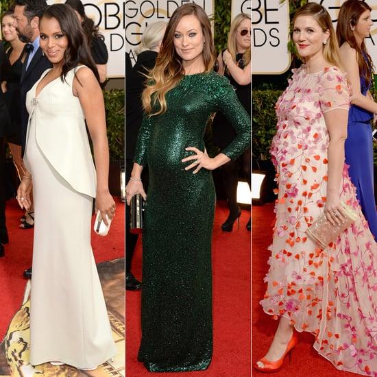 Pregnant Stars at Golden Globe Awards 2014