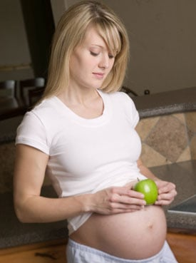 Baby Bump: An Apple a Day Keeps the Asthma Away