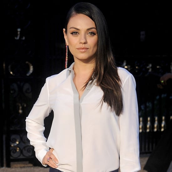 Mila Kunis at Burberry Event April 2015 | Pictures