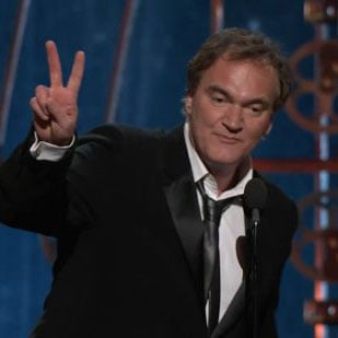 Quentin Tarantino Best Original Screenplay Win Oscars GIF