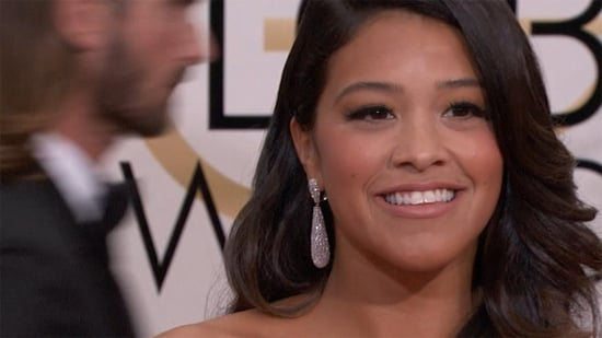 Gina Rodriguez Graciously Loans Golden Globes Dress to Fan for Her High School Prom