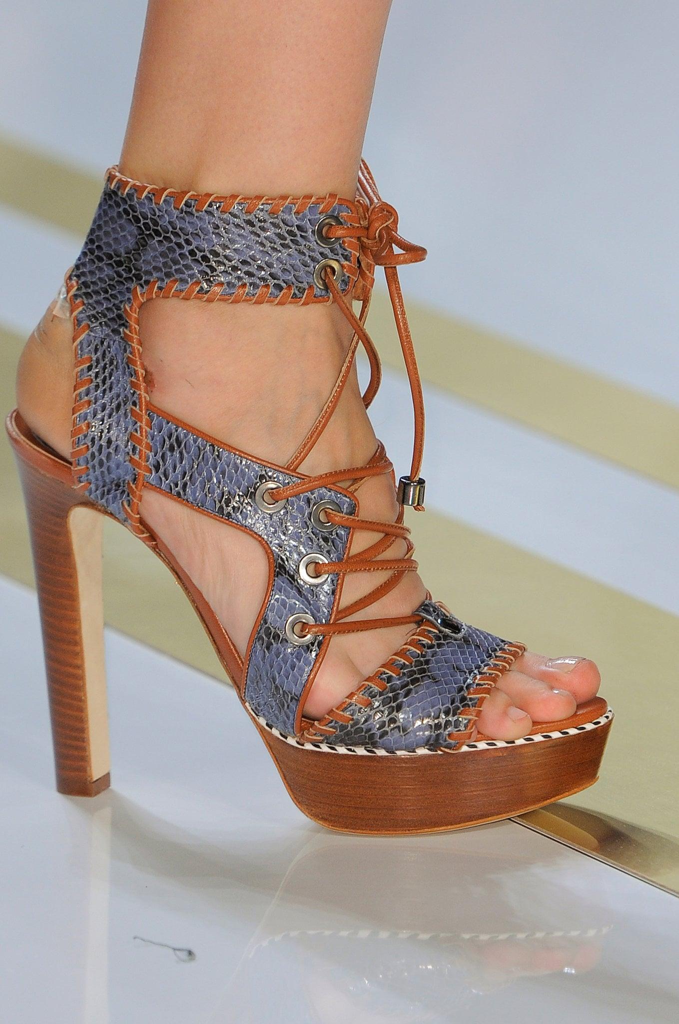 Summer Booties: Diane von Furstenberg Spring 2014