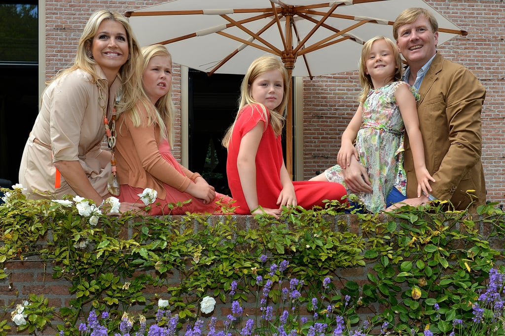 The Dutch royal family was all smiles for the Summer photo shoot.
