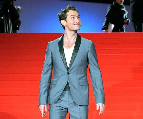 Slide Photo of Jude Law at Sherlock Holmes Premiere in Japan