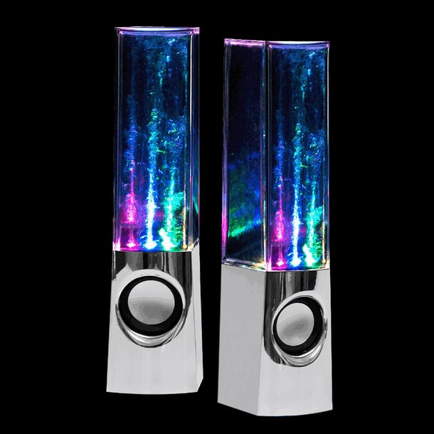 For 8-Year-Olds: Crazy Lights Magic Water Speakers