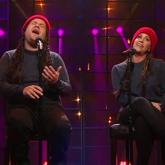 "James Corden and Alanis Morissette Sing ""Ironic"""