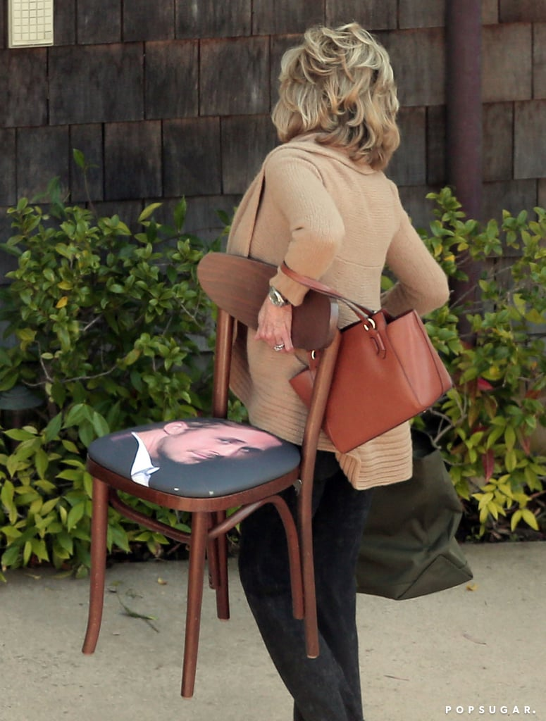 Jane Fonda Finally Explains That Chair With Ryan Gosling's Face on It