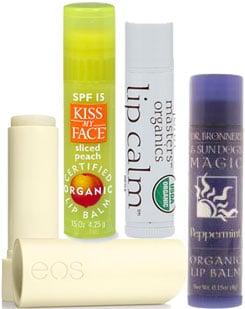 Certified Organic Lip Balms