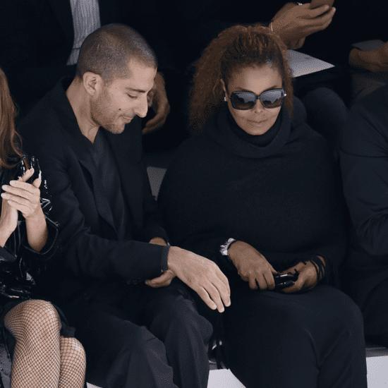 Janet Jackson and Wissam Al Mana at Paris Fashion Week
