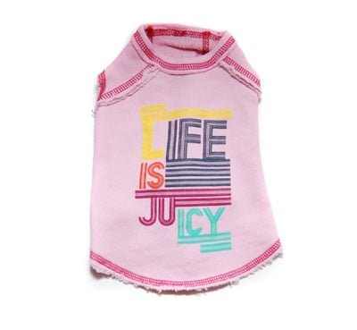 Life is Juicy French Terry T-Shirt by Juicy Couture ($35)