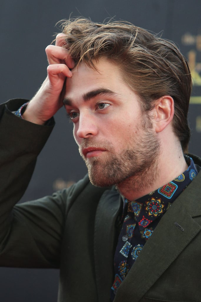 Robert Pattinson was in Sydney to promote Breaking Dawn - Part 2.