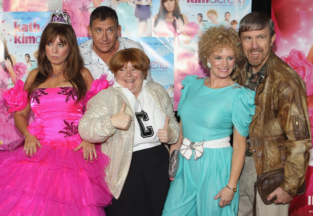 """The stars of Kath & Kim celebrated the release of their new """"filum"""", Kath & Kimderella, on August 26."""