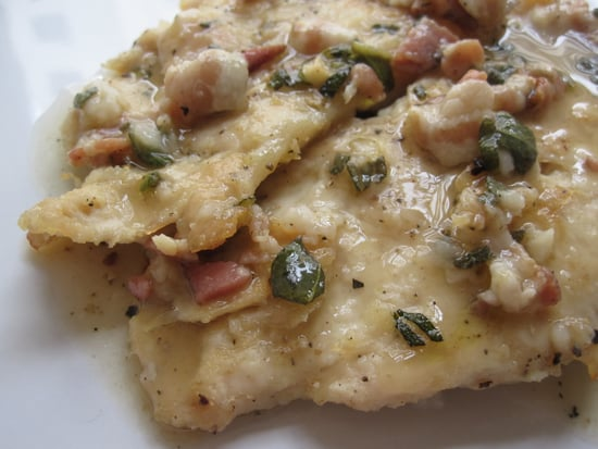 Turkey Scaloppine With Pancetta-Sage Sauce Recipe