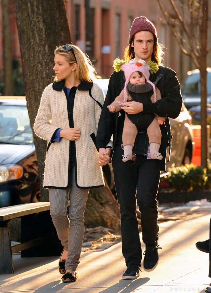 Tom Sturridge is now surrounded by two girls, Sienna Miller and their daughter, Marlowe, who was born in July 2012.