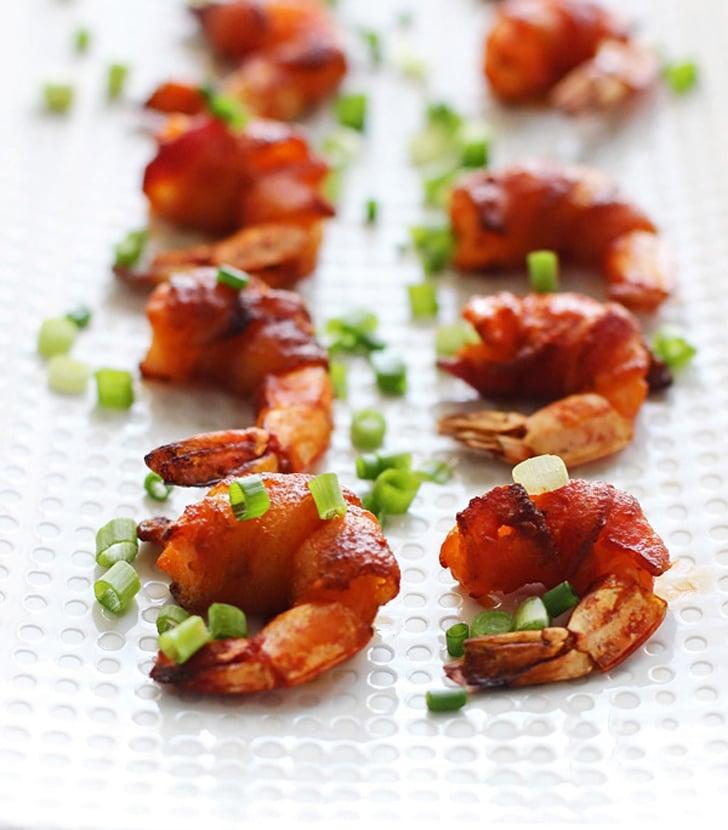 Bacon-Wrapped Buffalo Shrimp