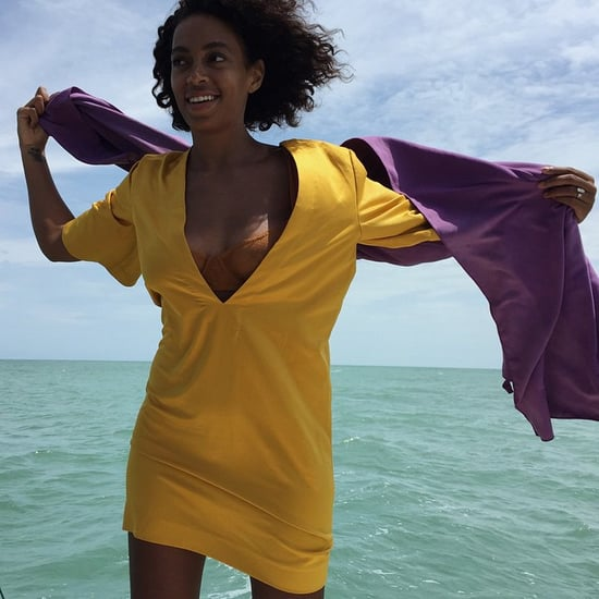 Solange Knowles's Honeymoon Pictures