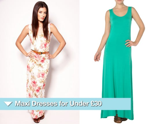 Maxi Dresses for a Wedding for Under £30 for Summer 2010