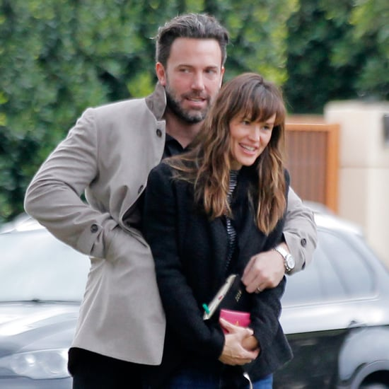 Ben Affleck and Jennifer Garner in Paris May 2016