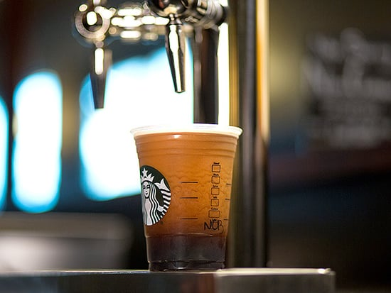 Starbucks' Newest Coffee Is Served on Tap and Infused with Nitrogen Gas