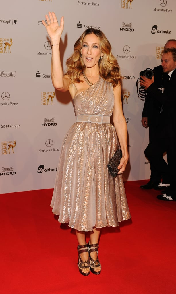 Pictures of SJP and Orlando Bloom at Bambi Awards