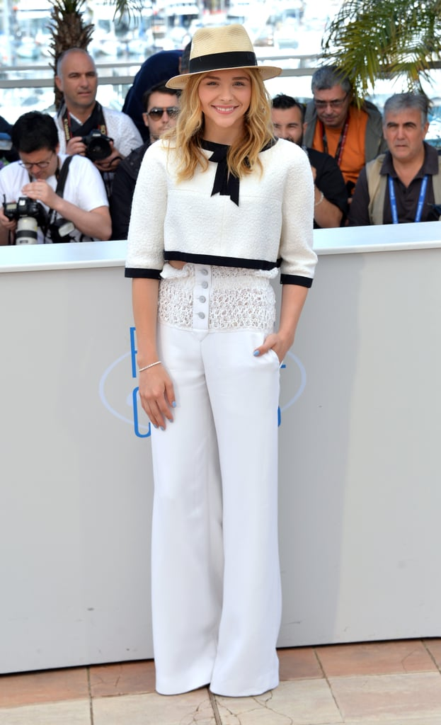 Chloë Moretz at the Clouds of Sils Maria Photocall