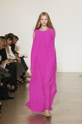 Jil Sander Bright Fuscia Dress for Spring Summer 2008