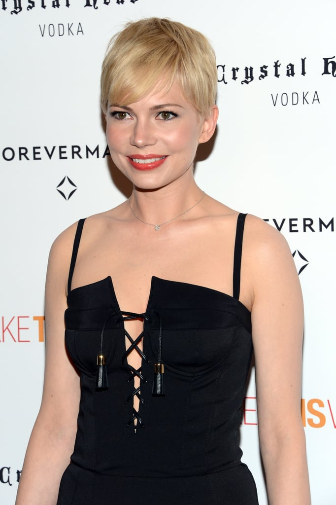 Michelle Williams posed in NYC.