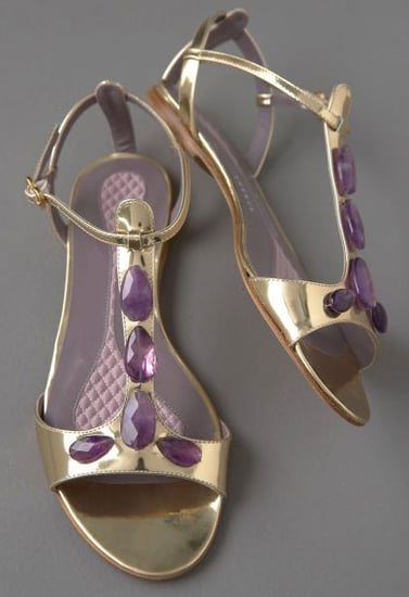 Guess Who Designed These Jeweled Metallic Beauties?