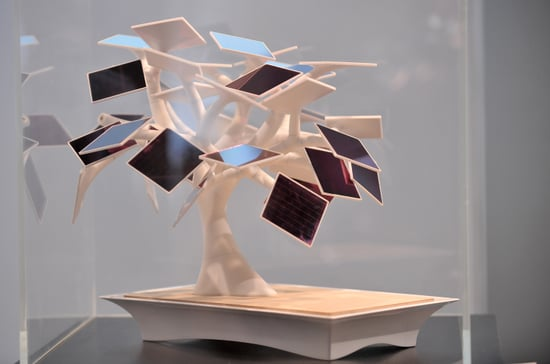 Electree Gadget Charger From Sustainable Luxury Expo in France