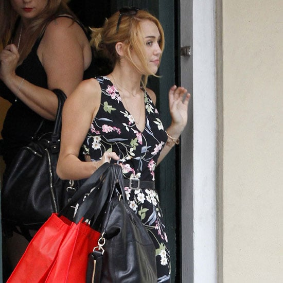 Miley Cyrus Shopping Pictures in New Orleans