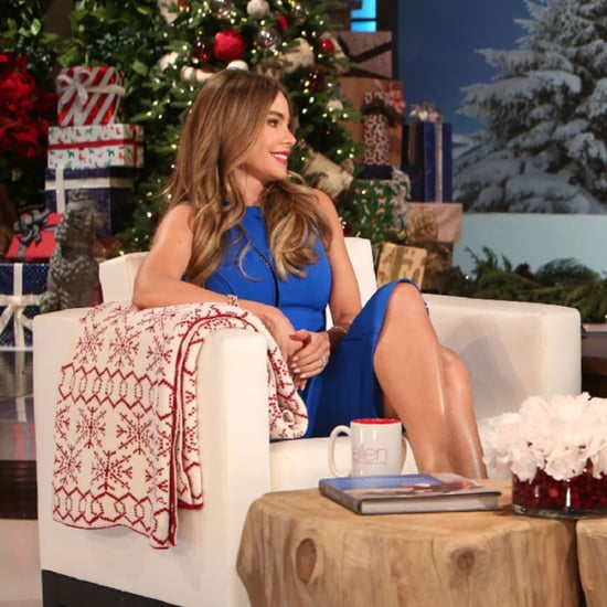 Sofia Vergara Tells Ellen DeGeneres About Her Wedding