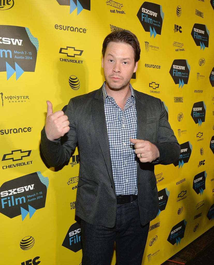 Ike Barinholtz got in on the Neighbors fun on Saturday.