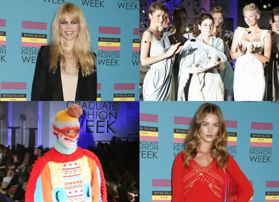 Graduate Fashion Week Winners 2009, photos of Claudia Schiffer, Amber Le Bon