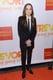 Ellen Page wore a sleek black suit.