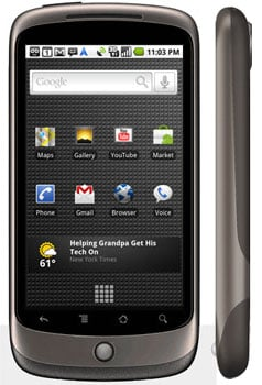 Google Officially Announces Nexus One, Available For Purchase Through Google Accounts, T-Mobile, Verizon, Vodafone