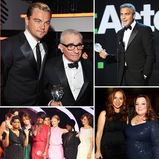George Wins, Leo Honors Martin, The Help Gets a Hand, and More at the Critics' Choice Awards!