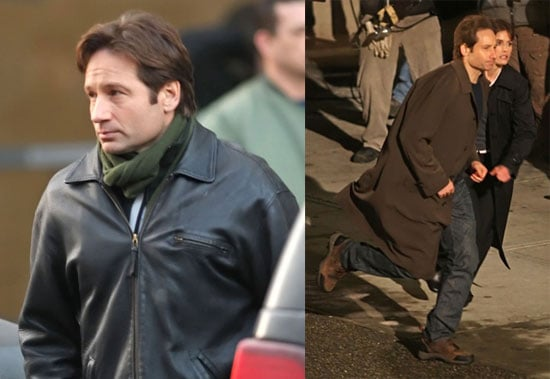 David Duchovny Shooting X-Files Movie in Vancouver