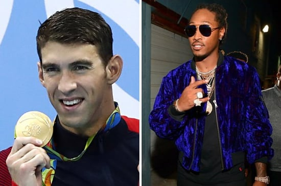 Apparently Michael Phelps Was Listening To Future When He Made *That* Face At The Olympics