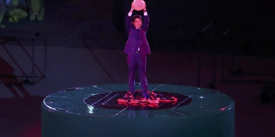Japanese Prime Minister Shinzo Abe Dresses Up As Super Mario In Wonderfully Bizarre Olympic Finale