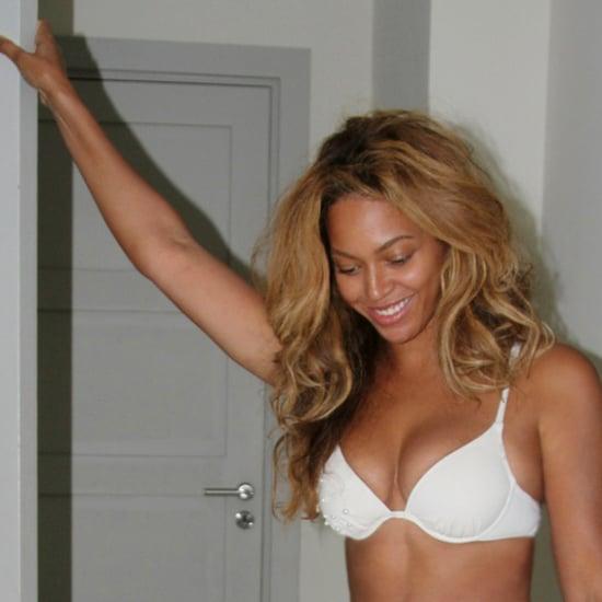 Beyonce White Bikini Photos