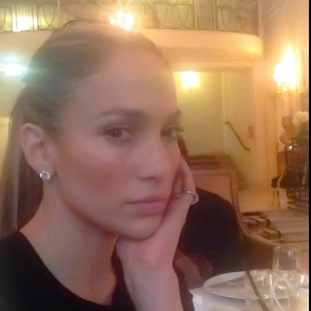 Jennifer Lopez spent her July 4 in Paris. Source: Instagram user jlo