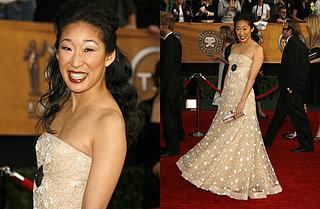 SAG Awards Red Carpet: Sandra Oh