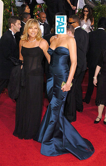 Guess Who Was Donning a Deep Blue Christian Dior Gown at the Golden Globes in 2005?
