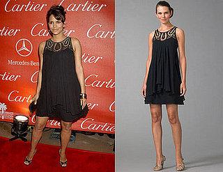 Found! Halle Berry's Black Papillon Mini Dress