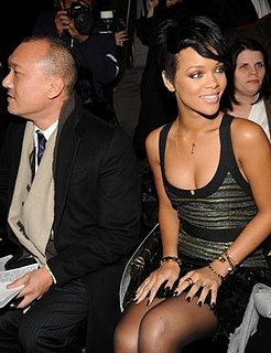 Rihanna Blogs From Fashion Week!